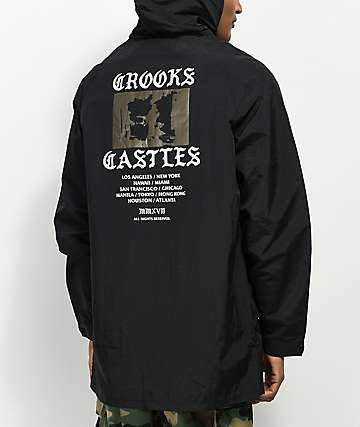 Crooks & Castles Riot Hooded Parka Jacket