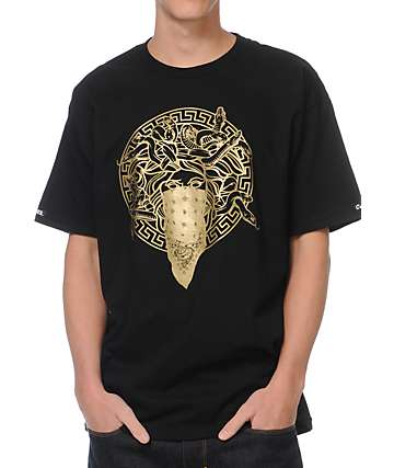 Crooks and Castles Primo Black T-Shirt
