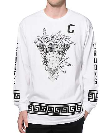 Crooks and Castles Standard Long Sleeve T-Shirt