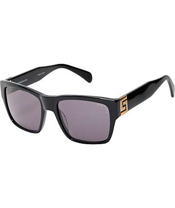 Crooks and Castles Thuxury Violento Black & Gold Sunglasses