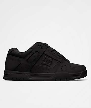 DC Stag All Black Skate Shoes