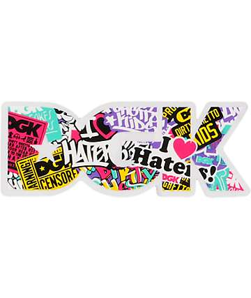 DGK Collage Logo Sticker