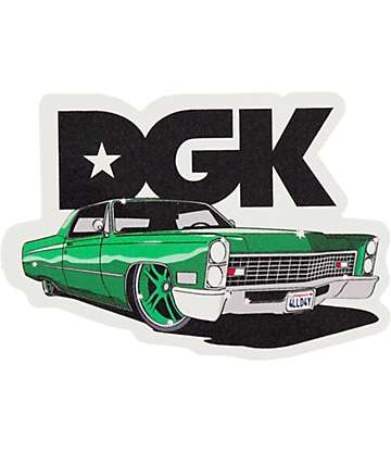 DGK G Ride Sticker