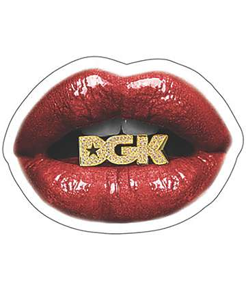 DGK LIPS STICKER