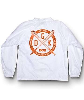DGK Sandlot White Coaches Jacket