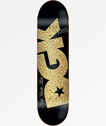 "DGK Shimmer Black 7.8"" Skateboard Deck"