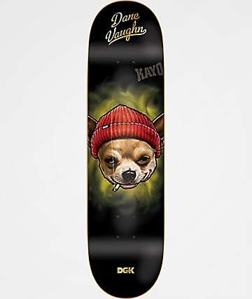 "DGK Spirit Animal Dane Vaughn 8.0"" Skateboard Deck"