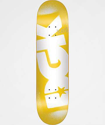 "DGK Stencil Team 8.25"" Skateboard Deck"