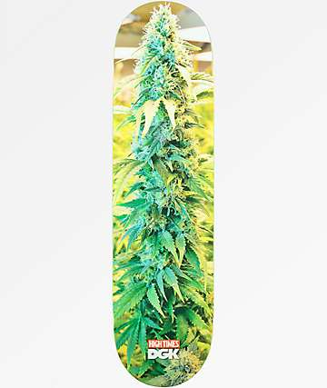 "DGK x High Times Cone 8.25"" Skateboard Deck"
