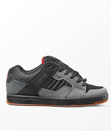 DVS Enduro 125 Charcoal & Black Nubuck Shoes