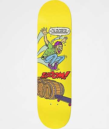 """Deathwish Lizard Teen-ager 7.8"""" Skateboard Deck"""