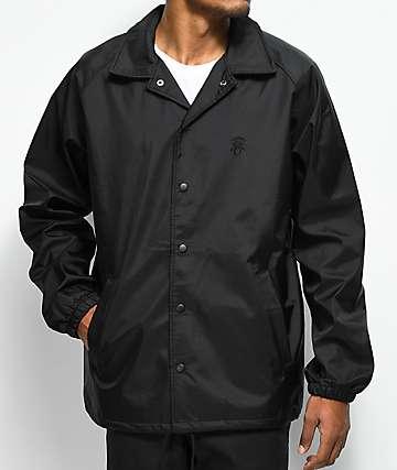 Deathworld Black Mamba Black Coaches Jacket