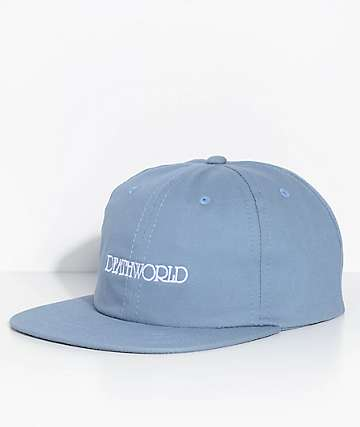 Deathworld Grandeur Blue Strapback Hat