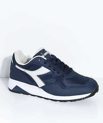 Diadora N902 Blue Denim & Grey Shoes