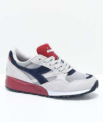 Diadora N902 Light Grey Shoes
