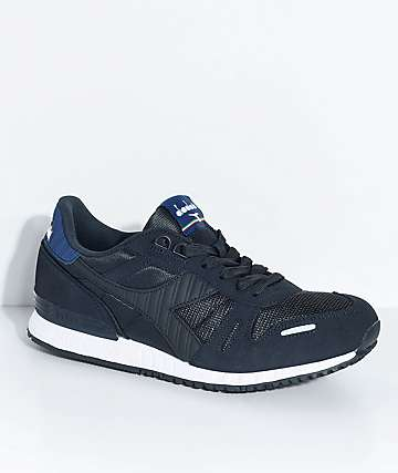 Diadora Titan II Stretch Limo & Estate Blue Shoes