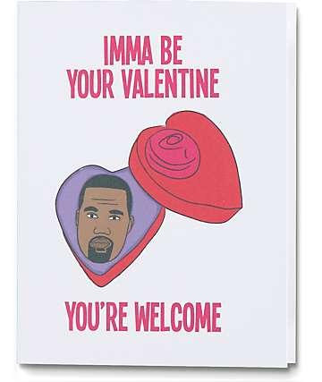 Diamond Donatello Imma Be Your Valentine Card