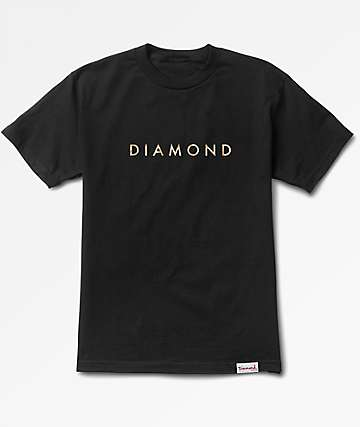 Diamond Supply Co Desert Black T-Shirt