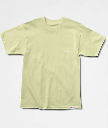 Diamond Supply Co Futura Sign Yellow T-Shirt