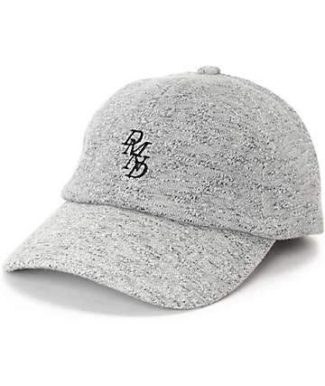 Diamond Supply Co Serif Sport Polo Heather Grey Baseball Hat