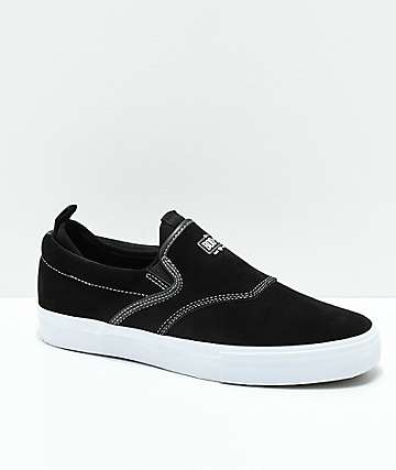 Diamond Supply Co. Boo-J XL Black & Black Slip-On Shoes