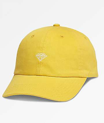 Diamond Supply Co. Brilliant Sports Yellow Dad Hat