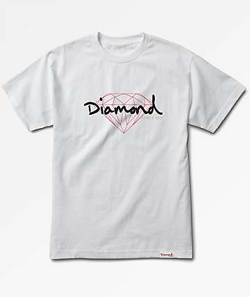 Diamond Supply Co. Brilliant White T-Shirt