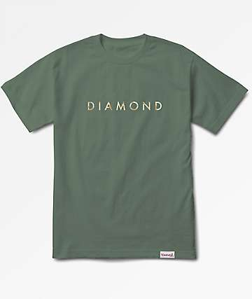 Diamond Supply Co. Desert Olive Green T-Shirt