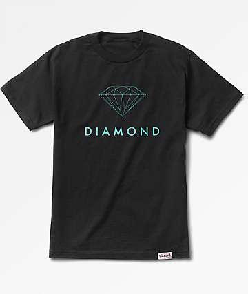 Diamond Supply Co. Futura Sign Black T-Shirt