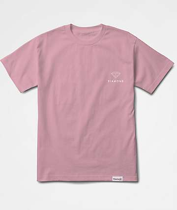 Diamond Supply Co. Futura Sign Pink T-Shirt
