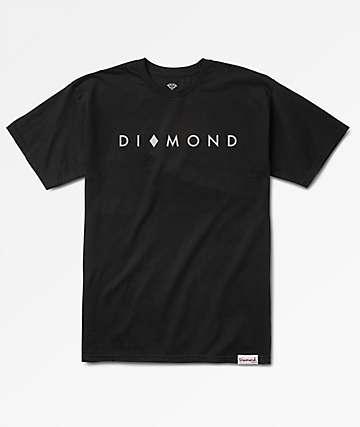 Diamond Supply Co. Marquise Black T-Shirt