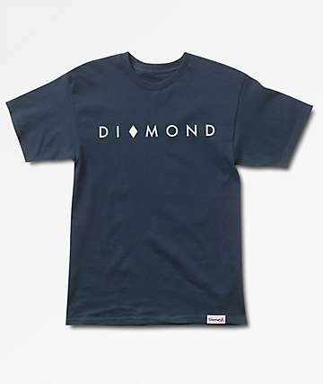 Diamond Supply Co. Marquise Navy T-Shirt