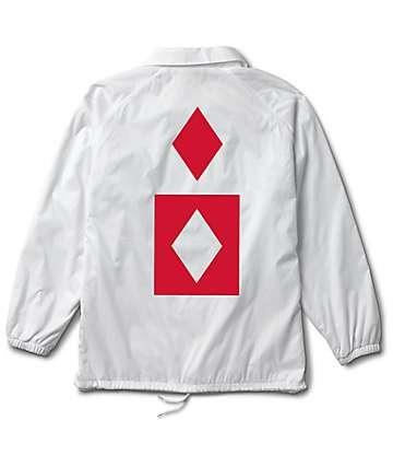 Diamond Supply Co. Marquise White Coaches Jacket