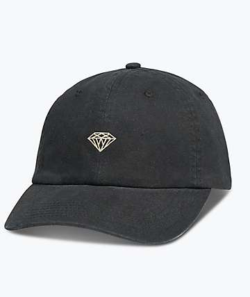 Diamond Supply Co. Micro Brilliant Black Dad Hat