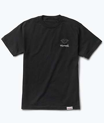 Diamond Supply Co. Mini OG Sign Black T-Shirt