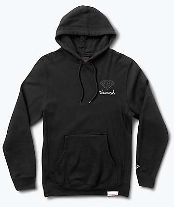 Diamond Supply Co. OG Sign Black Hoodie