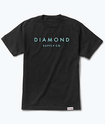 Diamond Supply Co. Stone Cut Black T-Shirt