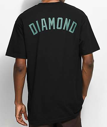 Diamond Supply Co. Un Polo Black T-Shirt
