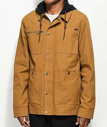 Dravus Blair Military Brown Jacket