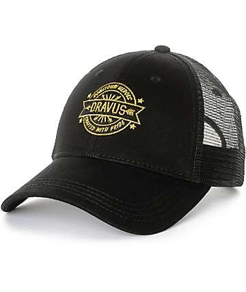 Dravus Burch Black Snapback Hat