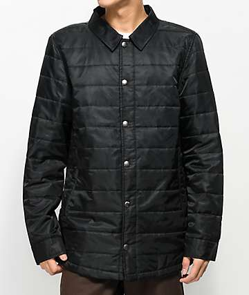 Dravus Burt Black Lightweight Jacket