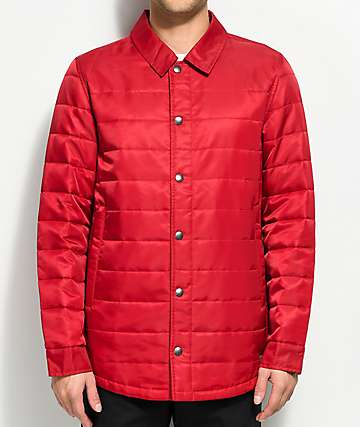 Dravus Burt Red Lightweight Jacket