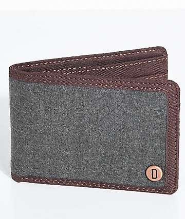 Dravus Charcoal Bifold Wallet