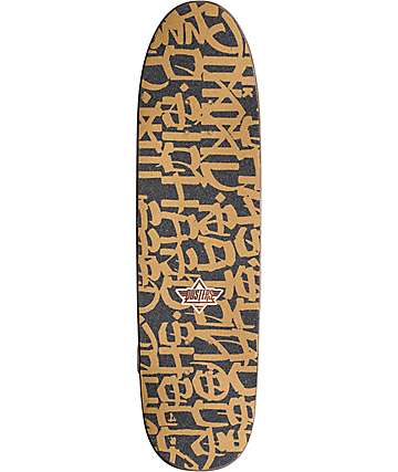 "Dusters Chaz California Locos Gold 31.89"" Cruiser Complete Skateboard"