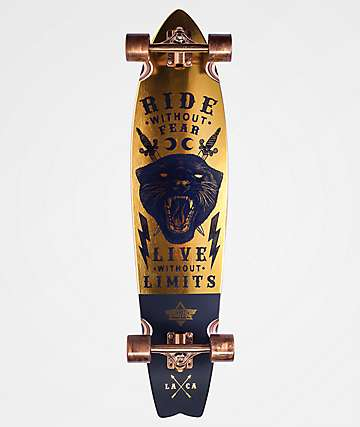 """Dusters Puma 37"""" Pintail Longboard Complete"""