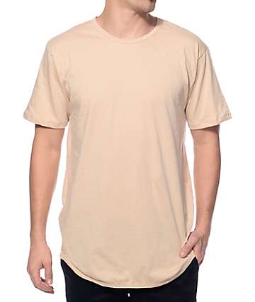 EPTM. Elongated Sand Khaki Long T-Shirt
