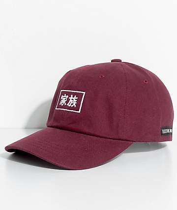 Electric Family Kazoku Burgundy Dad Hat