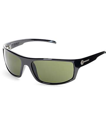 Electric Tech One Gloss Black & Grey Sunglasses