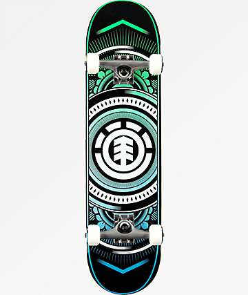 "Element Hatched 8.0"" Skateboard Complete"