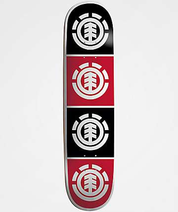 "Element Quadrant 7.3"" Skateboard Deck"
